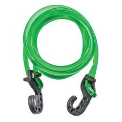 Extensor em Silicone com Ponteira Plástica Verde - Pacote com 10 unidades